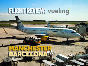 Flight Review: Vueling – Manchester to Barcelona