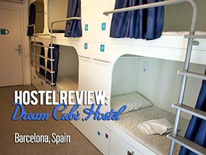 Hostel Review: Dream Cube Hostel, Barcelona – Spain