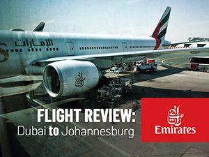 Flight Review: Emirates – Dubai to Johannesburg