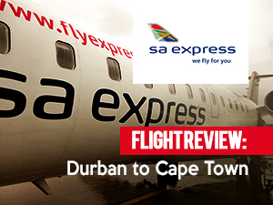 Flight Review: SA Express – Durban to Cape Town