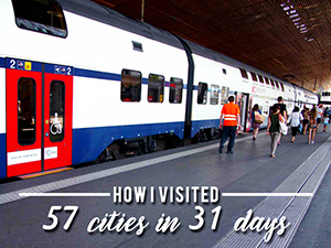 1 month Eurail Global Pass review – How I visited 57 cities in 31 days