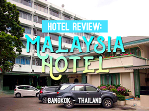 "Malaysia Hotel – One of the original ""Recommended by Lonely Planet"" hotels in Bangkok"