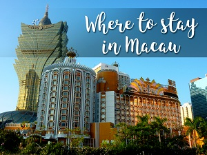Where to stay in Macau