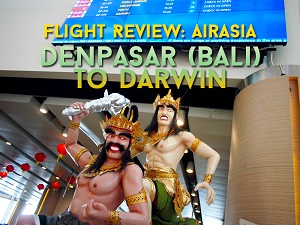 Flight Review: AirAsia – Denpasar (Bali) to Darwin