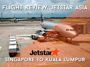 Flight Review: Jetstar Asia – Singapore to Kuala Lumpur