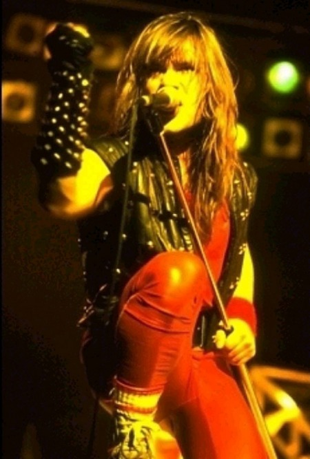 Bruce Dickinson of Iron Maiden