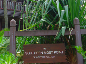 Southern Most Point Of Continental Asia