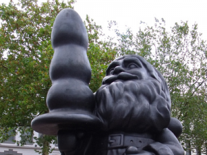 Rotterdam Santa Claus: The most offensive public art in Europe?