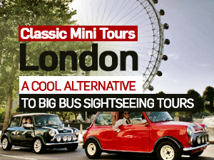 Classic Mini Tours of London