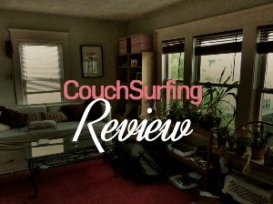 A review of my first Couchsurfing experience