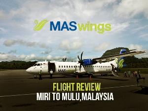 Flight Review: MASwings - Miri to Mulu, Malaysia