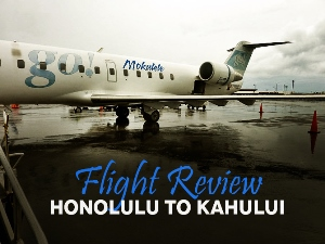 Flight Review: go! Mokulele - Honolulu to Kahului