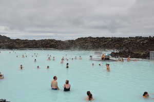 The famous Blue Lagoon of Iceland