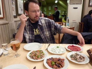 A highlights of Turkish food tour in Istanbul
