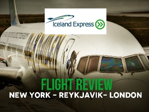 Flight Review: Iceland Express - New York - Reykjavik - London