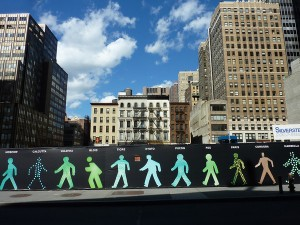 Walking Men, NYC - USA