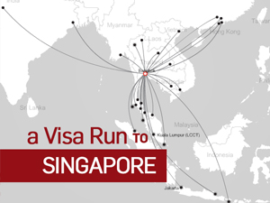 A visa run to Singapore