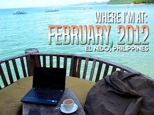 Where I'm At: February, 2012 - El Nido Philippines