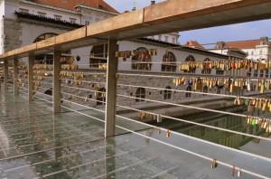 Love padlocks, Ljubljana – Slovenia