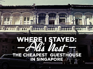 Ali's Nest Guesthouse Singapore
