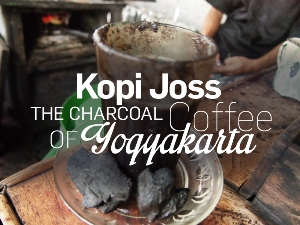 Kopi Joss - The charcoal coffee of Yogyakarta