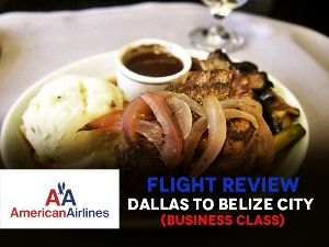 Flight Review: American Airlines - Dallas to Belize City [Business Class]