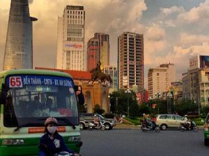 Back in Ho Chi Minh City