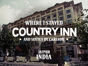 Hotel Review: Country Inn & Suites By Carlson Jaipur, India