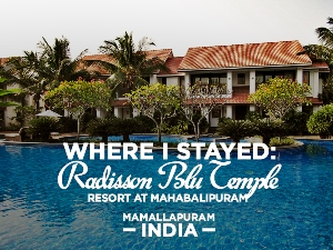 Radisson Blu Temple Bay Resort at Mahabalipuram, Mamallapuram
