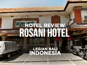 Rosani Hotel, Legian, Bali - Indonesia