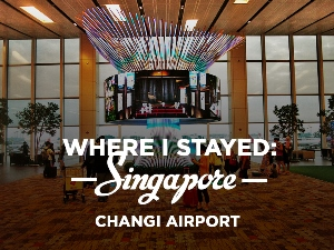 Staying overnight at Singapore Changi Airport