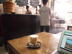 Cafes in Bali for writers and digital nomads