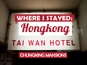 Hotel Review: Hong Kong Tai Wan Hotel