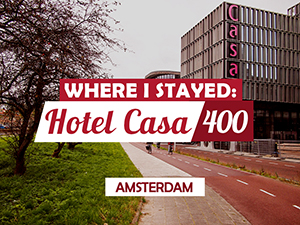 Hotel Review: Hotel Casa 400, Amsterdam