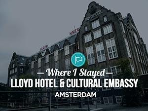 Lloyd Hotel & Cultural Embassy, Amsterdam