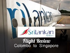 SriLankan Airlines - Colombo to Singapore