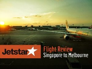 Jetstar Airways - Singapore to Melbourne