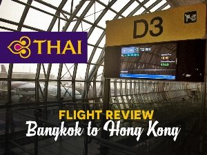 Thai Airways - Bangkok to Hong Kong