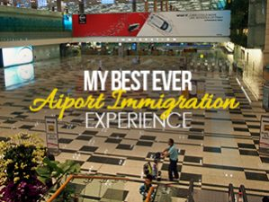 My best ever airport experience