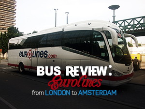 Bus Review: Eurolines from London to Amsterdam