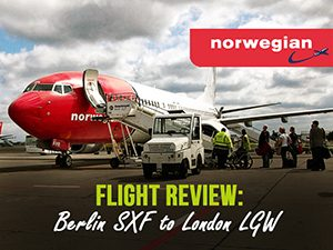 Flight Review: Norwegian – Berlin SXF to London LGW
