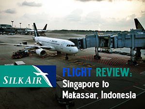 SilkAir - Singapore to Makassar (Indonesia)