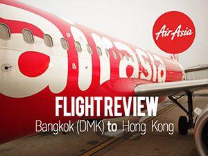 Flight Review: AirAsia - Bangkok (DMK) to Hong Kong