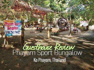 Phayam Sport Bungalow, Ko Phayam - Thailand