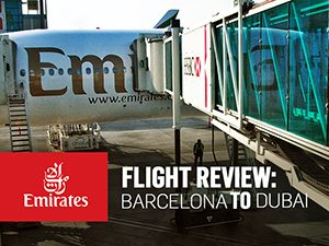 Flight Review: Emirates - Barcelona to Dubai