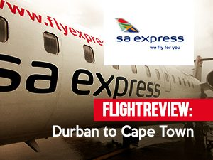 SA Express - Durban to Cape Town