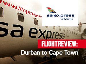 SA Express - Durban to Cape Town