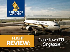 Singapore Airlines - Cape Town to Singapore