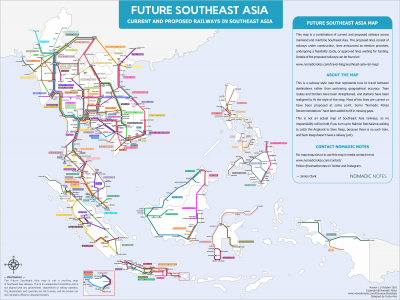 Future Southeast Asia Map
