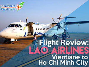 Flight Review: Lao Airlines - Vientiane to Ho Chi Minh City